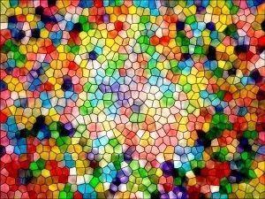 como hacer gelatina de mosaico