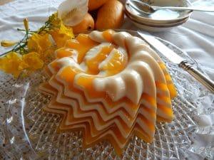 como hacer gelatina de mango