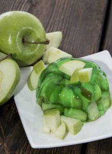 deliciosa receta de gelatina de manzana