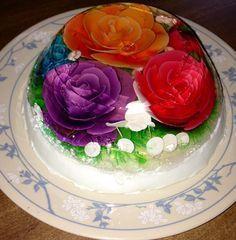 como-hacer-gelatina-artistica-flor-morada-2