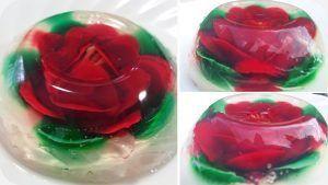 como hacer gelatina artistica transparente