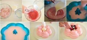 recetas de gelatinas de frutas fresas con leche condesada