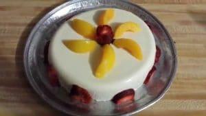 como hacer gelatinas con frutas y queso crema