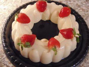 como hacer gelatina blanca de tres leches