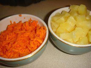 como hacer gelatina blanca de zanahoria y piña