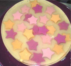 Como decorar una gelatina de mosaico