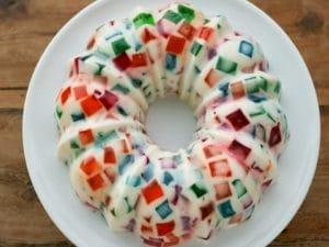Como decorar una gelatina