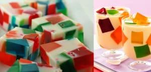 como elaborar gelatinas de mosaico 3