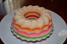 Como hacer la gelatina de colores