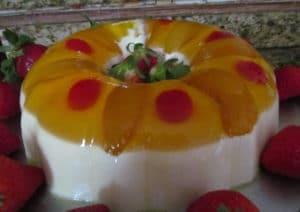 como hacer gelatina de tres leches 3