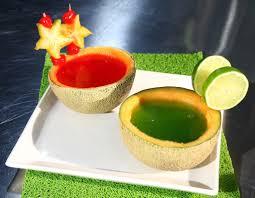 como hacer gelatinas natural de frutas