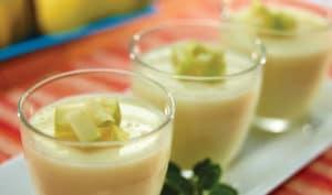 como hacer gelatinas de manzana 1