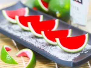 como hacer gelatinas de sandia 4
