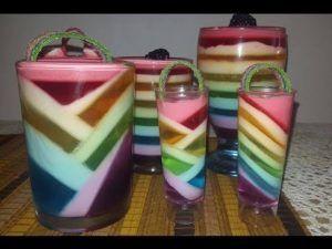 como hacer gelatinas en vaso para vender