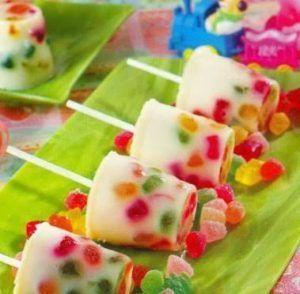 como hacer gelatinas para niños