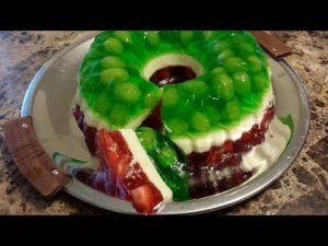como hacer gelatinas tricolor 2