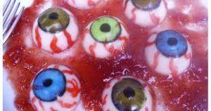 Como hacer ojos de gelatina