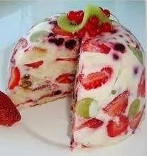 Cómo hacer gelatinas con frutas dentro