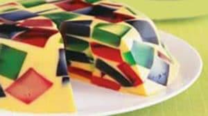 recetas de gelatina de mosaico sin grenetina 1