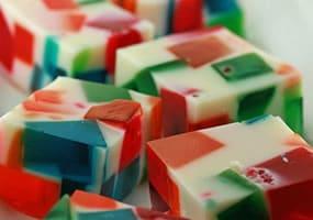 recetas de gelatina de mosaico sin grenetina 3