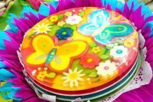 como hacer una gelatina decorada 1