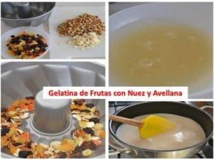 como hacer gelatinas de frutas naturales
