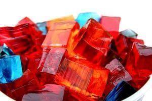 como hacer gelatina en cuadritos