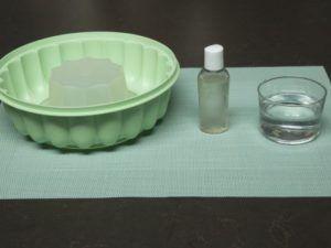 como desmoldar una gelatina en molde de plastico