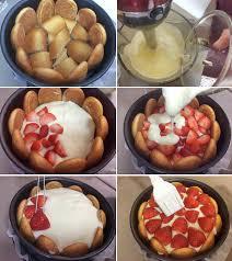 como hacer charlota de gelatina