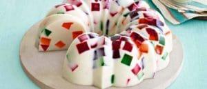como hacer gelatinas de mosaico con grenetina