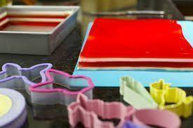 como hacer gelatinas de arcoiris
