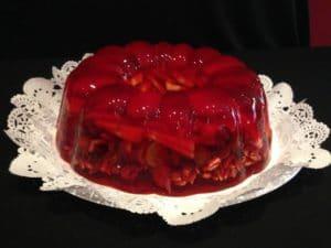 como hacer gelatinas de fresa