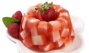 aprenda como hacer gelatina de mosaico con frutas