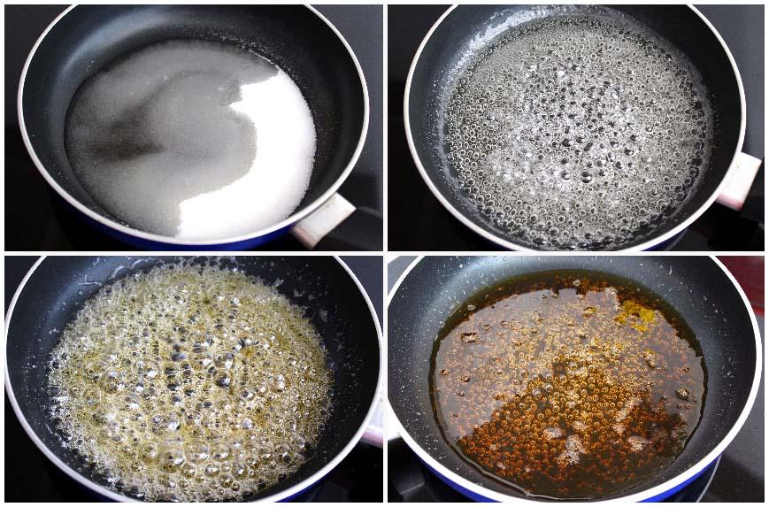 como hacer caramelo para flan