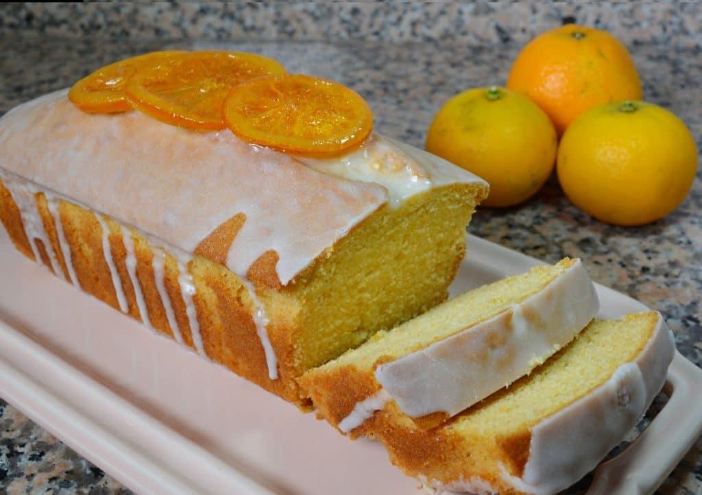 como hacer budín de naranja